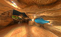 vom Wasserfall im Sea Life Resort in Sharm el Sheikh - Grotte