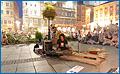 vom 20. Pflasterspektakel 2006 in Linz, Tribal Need am Hauptplatz in Linz - Tribal Need