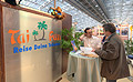 vom Messestand Tai Pan auf der Tourist Messe 2007 in Linz - Tai Pan Messestand